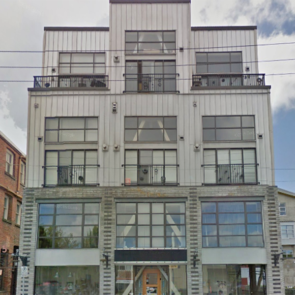 555 Chatham St, Victoria, BC - Building exterior!