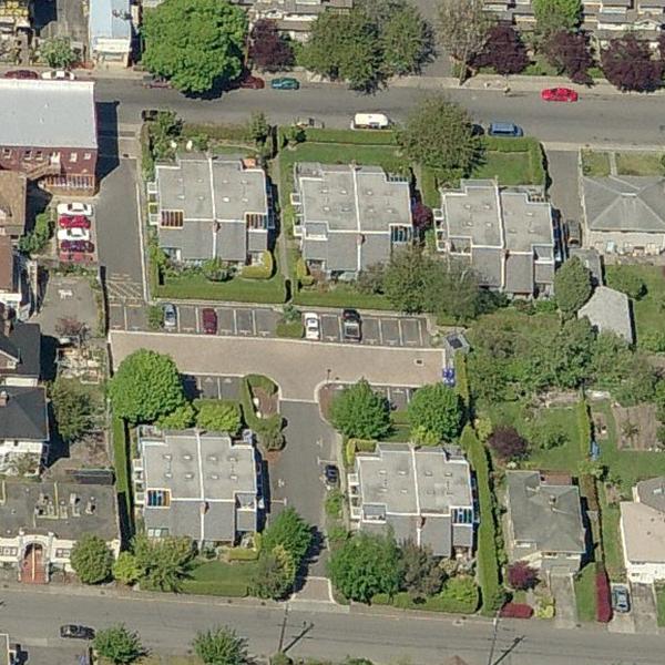 Springwood - 1319 Gladstone Ave, Victoria, BC - Birds eye view!
