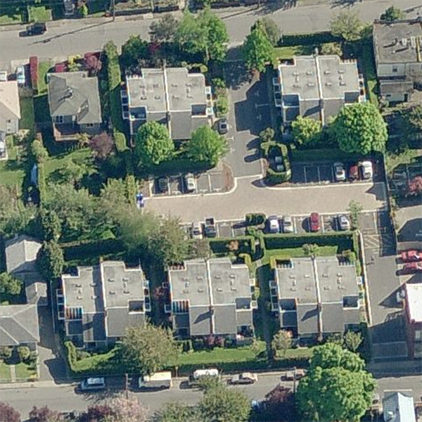 Springwood - 1315 Gladstone Ave, Victoria, BC - Birds eye view!