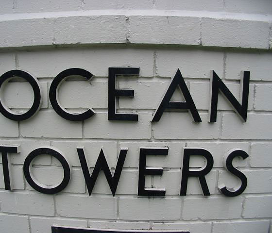 Ocean Towers Sign!