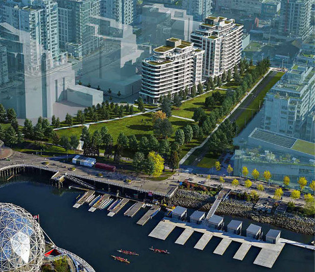 49 East 1st Avenue, Vancouver, BC V5T 1A1, Canada Aerial Rendering!