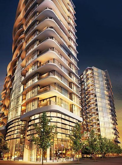 One Pacific - 901 Pacific Boulevard, Vancouver, BC - Developer's Photo!