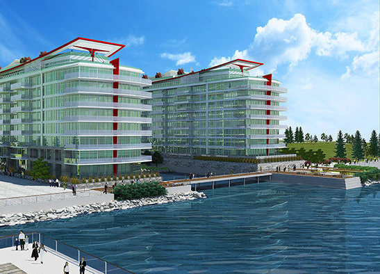 185 Victory Ship Way, North Vancouver, BC V7L 0B2, Canada Exterior Rendering!