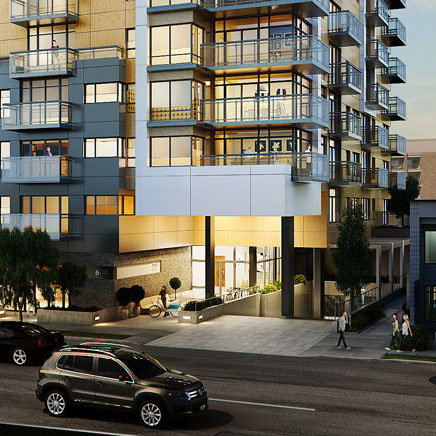 Escher - 838 Broughton St, Victoria, BC - Developer's Photo!