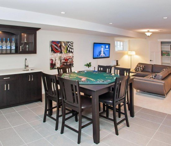 16458 23 Ave, South Surrey, BC V3S 0L8, Canada Recreation room perfect for every man cave (bar upgrade shown)!