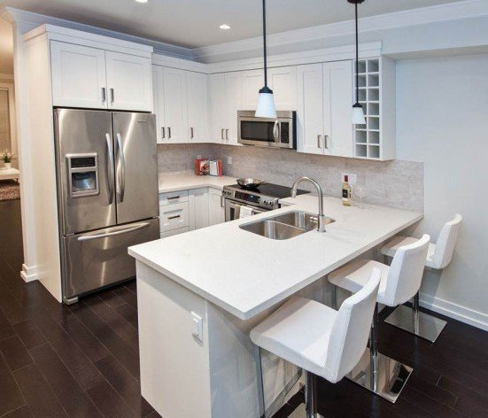 16458 23A Avenue, Surrey, BC V3Z 0L9, Canada Two designer colour schemes, �Adra� and �Una�, showcase a dark or light kitchen suitable to your lifestyle.!