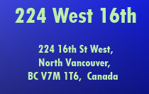 224 West 16th 224 16TH V7M 1T6