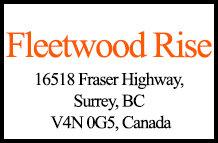 Fleetwood Rise 16518 Fraser V4N 0G5