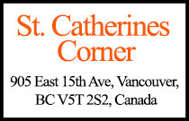 St. Catherines Corner 905 15th V5T 2S2