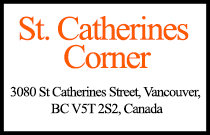 St. Catherines Corner 3080 St Catherines V5T 2S2