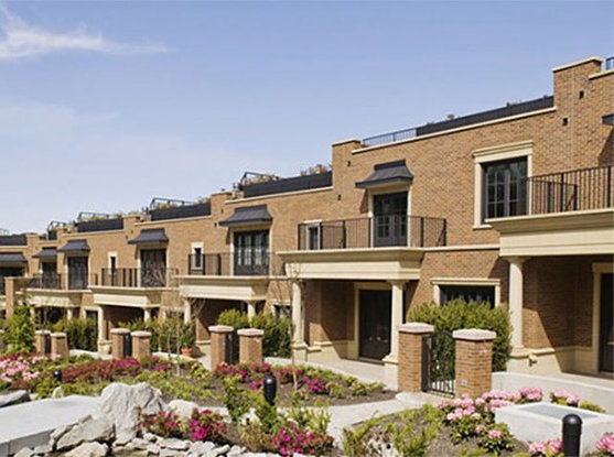 The Crescent Townhouses!