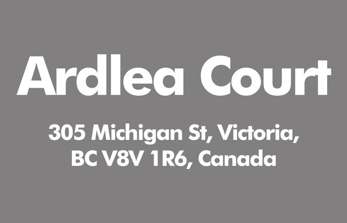 Ardlea Court 305 Michigan V8V 1R6