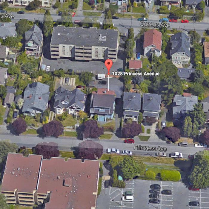 1028 Princess Avenue, Victoria, BC V8T 1L1, Canada Aerial View!