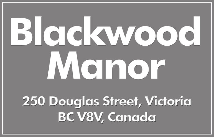 Blackwood Manor 1201 Hillside V8T 2B1