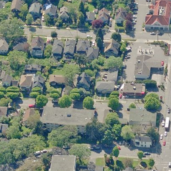 1070 Amphion Street, Victoria, BC - Birds Eye View!