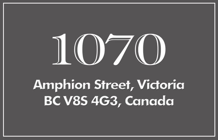 1070 Amphion 1070 Amphion V8S 4G3