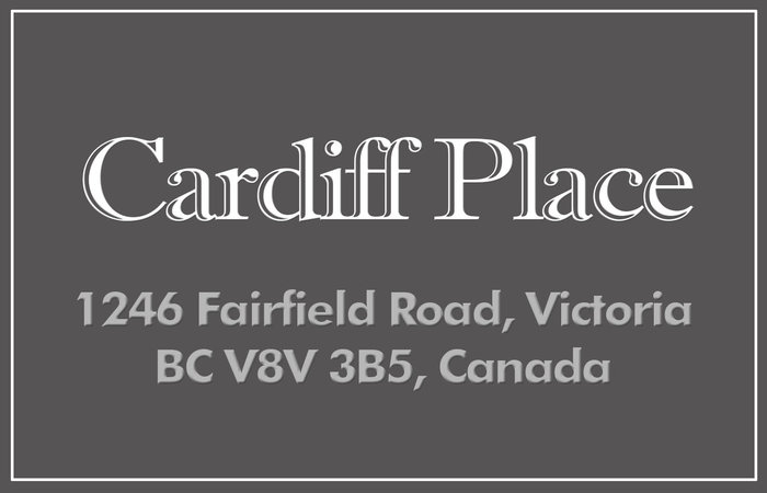 Cardiff Place 1246 Fairfield V8V 3B5