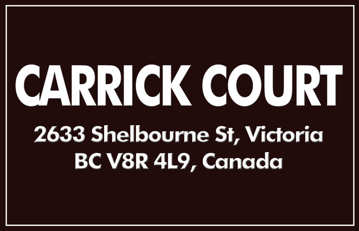 Carrick Court 2633 Shelbourne V8R 4M1
