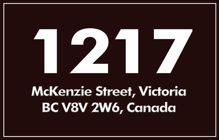 1217 Mckenzie 1217 McKenzie V8V 2W6