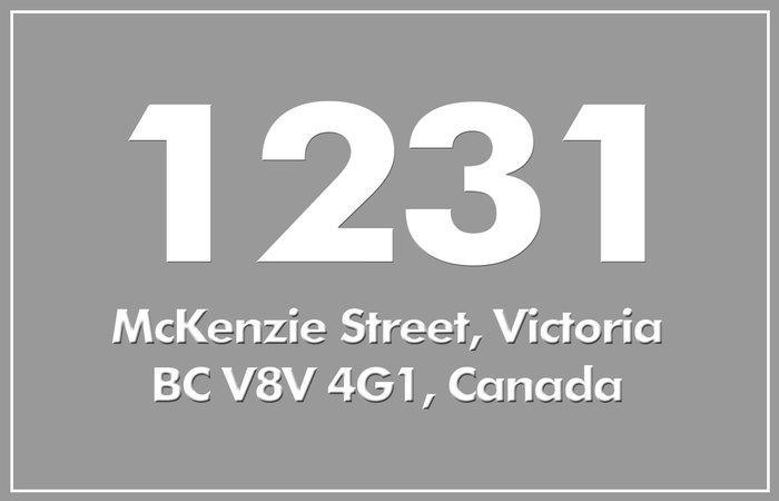 1231 Mckenzie 1231 McKenzie V8V 2W6