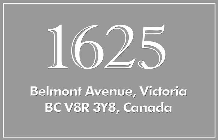 Transcona 1625 Belmont V8R 3Y8