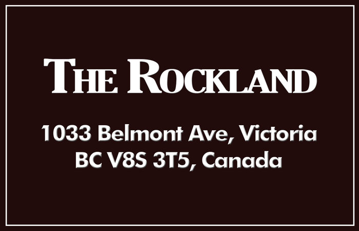 The Rockland 1033 Belmont V8S 3T4