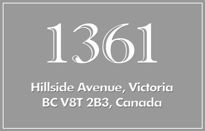 1361 Hillside 1361 Hillside V8T 2B3