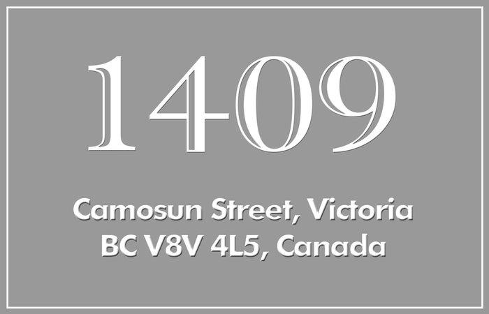 1409 Camosun 1409 Camosun V8V 4L5