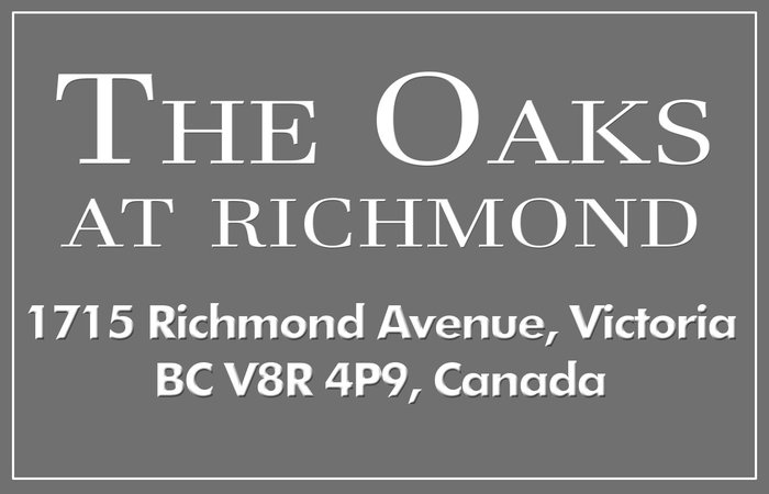 The Oaks At Richmond 1715 Richmond V8R 4P9