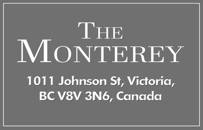 The Monterey 1011 Johnson V8V 3N6