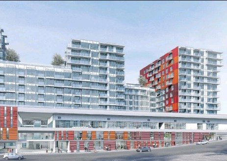 Rendering of Strathcona Village!