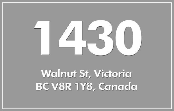 1430 Walnut 1430 Walnut V8R 1Y8
