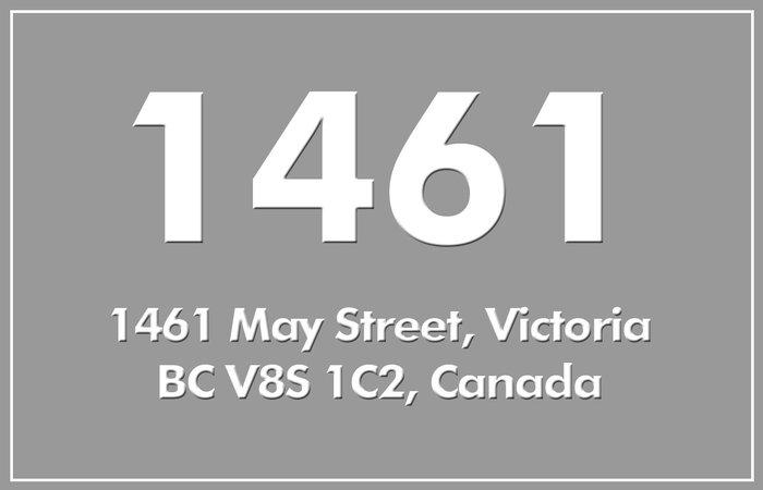 1461 May 1461 May V8S 1C2