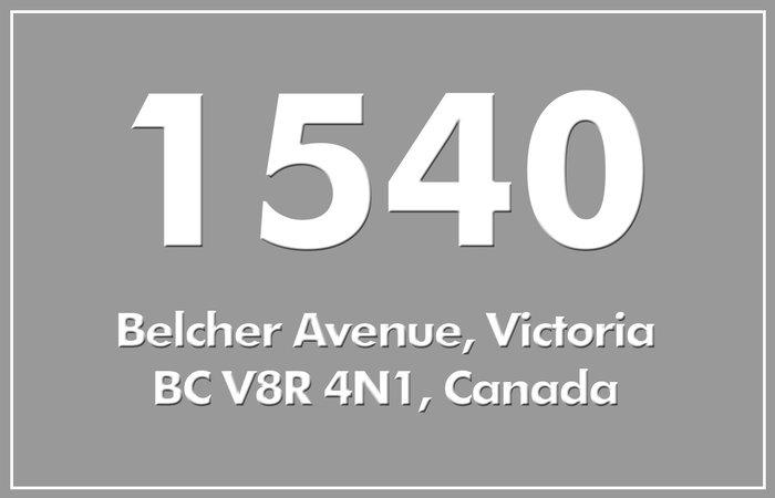 1540 Belcher 1540 Belcher V8R 4N1