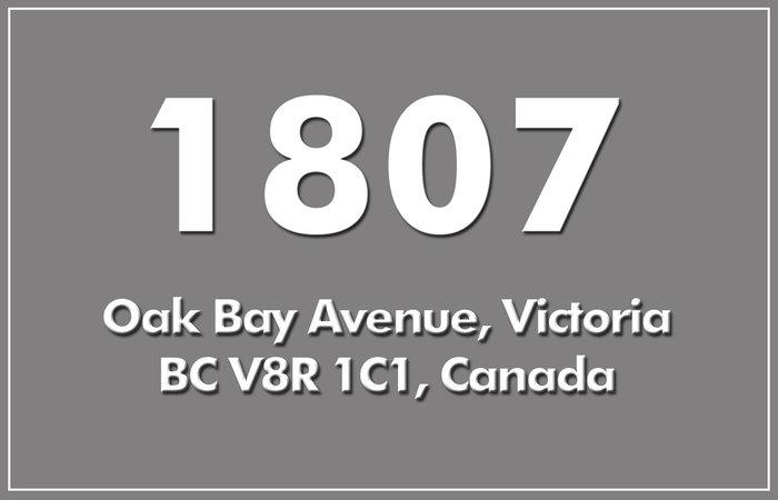 1807 Oak Bay 1807 Oak Bay V8R 1C1