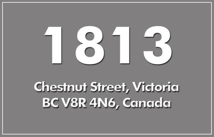 1813 Chestnut 1813 Chestnut V8R 4N6