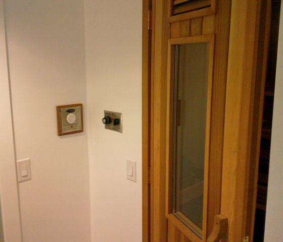 Door To Sauna!