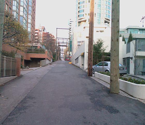 Back Lane!