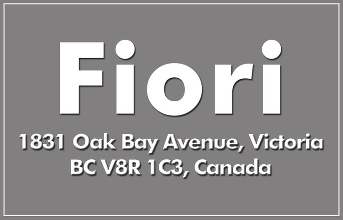 Fiori 1831 Oak Bay V8R 1C3