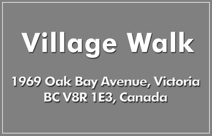 Village Walk 1969 Oak Bay V8R 1E3