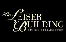 The Leiser Building 524 Yates V8W 1K8