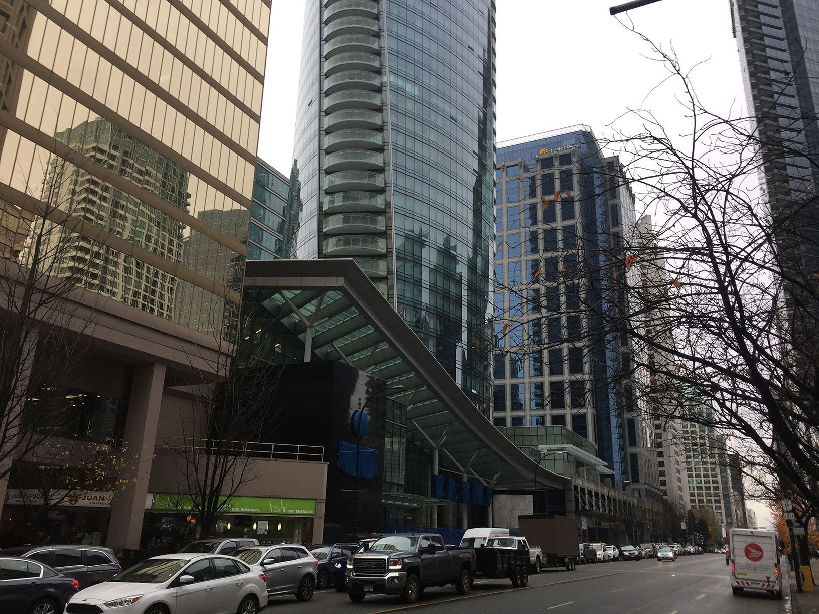Georgia Street Entrance!