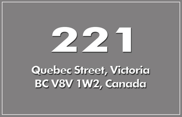 221 Quebec 221 Quebec V8V 1W2