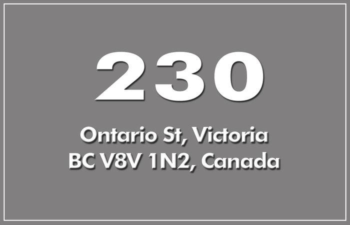 230 Ontario 230 Ontario V8V 1N2
