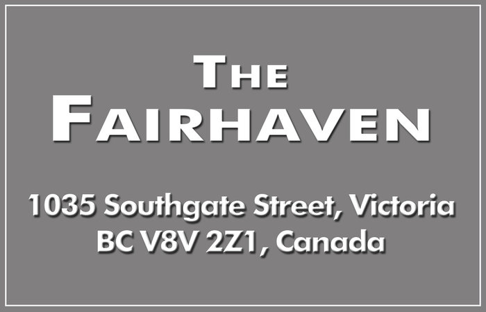 The Fairhaven 1035 Southgate V8V 2Z1