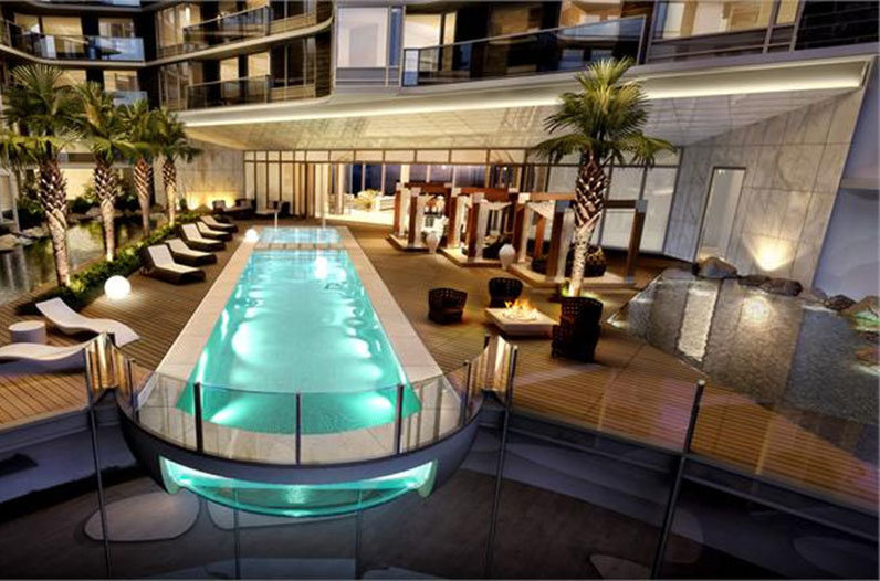 Swimming Pool Deck!