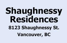Shaughnessy Residences 8123 Shaughnessy V6P 3X9