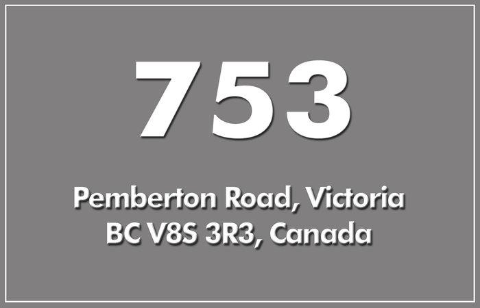 753 Pemberton 753 Pemberton V8S 3R3