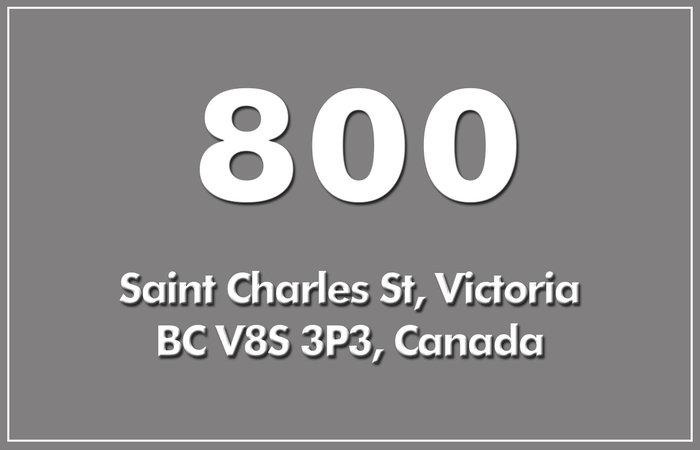 800 St Charles 800 St Charles V8S 3P3