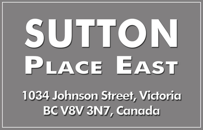 Sutton Place East 1034 Johnson V8V 3N7